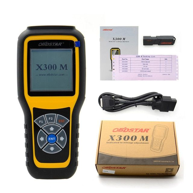 OBDSTAR X300M Odometer correction tool X300 M Special for Odometer Adjustment and OBDII Odometer change tool