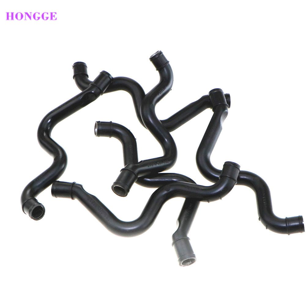 HONGGE Qty 10 1.8T Crankcase Exhaust Pipe Vacuum Breather Hose For   Passat B5 Bora Golf MK4 Beetle Toledo 06A 103 213 AF