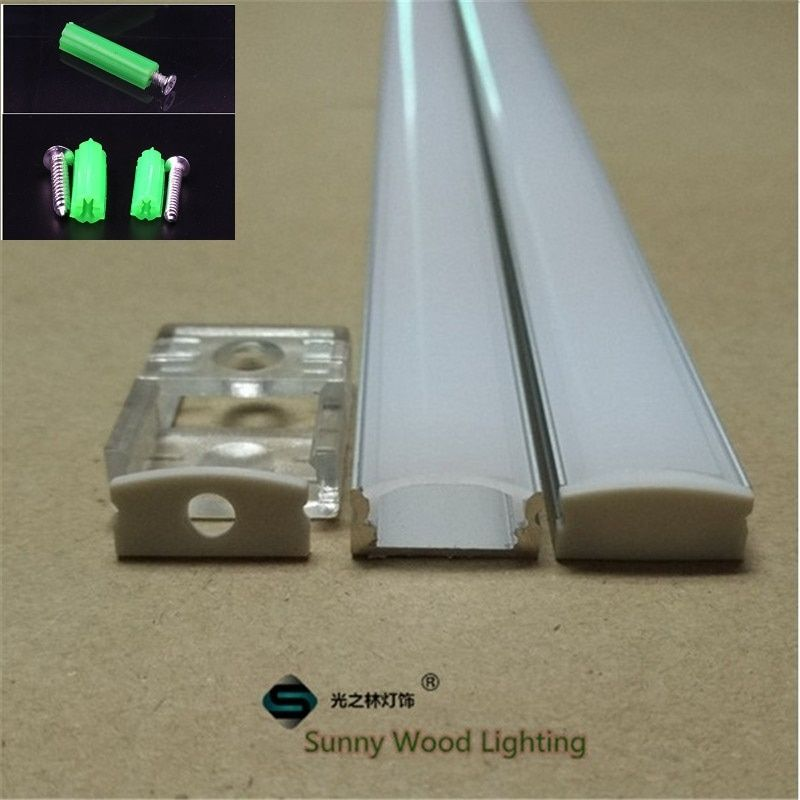 10set/lot 40inch 12mm strip  led aluminium profile for led bar light, led flat slim  aluminum channel,  tape light housing