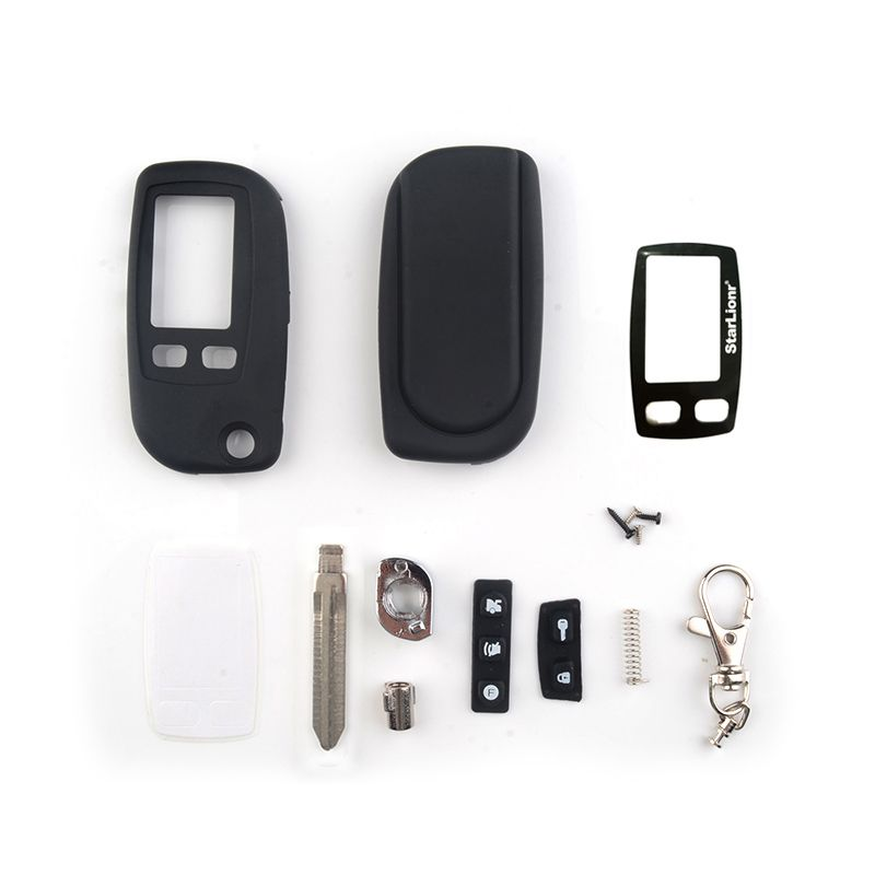 New case for Tomahawk TW9010 TW9020 TW9030 uncut blade fob case cover TW9010 TW9030 folding car flip remote + Glass