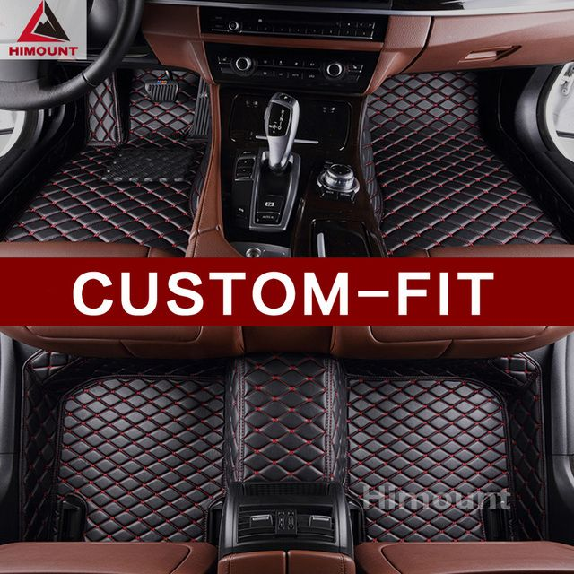 Custom fit car floor mats for BMW 3 series E46 E90 E91 E92 E93 F30 F31 F34 GT M3 F80 3D car styling carpets rugs floor liners