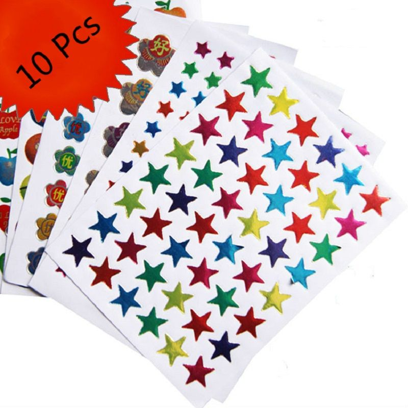 10 Pcs Smily Face Emoji autocollant Stickers pegatinas For Notebook Message Twitter Large Viny Instagram Classical Toy adesivo