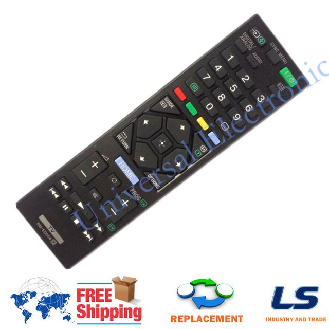 [ REPLACEMENT ] TV Remote Control RM-ED054 Fit For Sony KDL-46R470A KDL-32R420A KDL-46R473A  KDL-32R420A KDL-40R470A KDL-46R470A