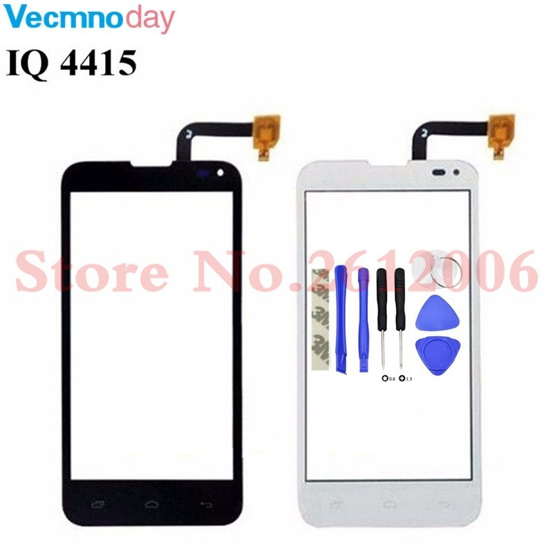 Vecmnoday Touchscreen For iq4415 Sensor iq 4415 Touch Screen SDigitizer Sensor Front Glass Phone Parts Replacement