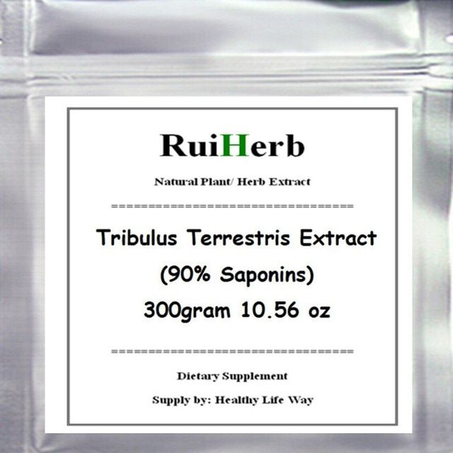 300gram Tribulus Terrestris Extract (90% Saponins) Powder free shipping