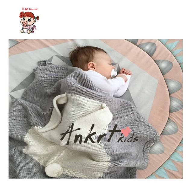 Rabbit Baby Blanket Baby Photography Props Blanket Cute Bunny Boys Girls Knitting Wool Blanket Air Conditioning Blanket
