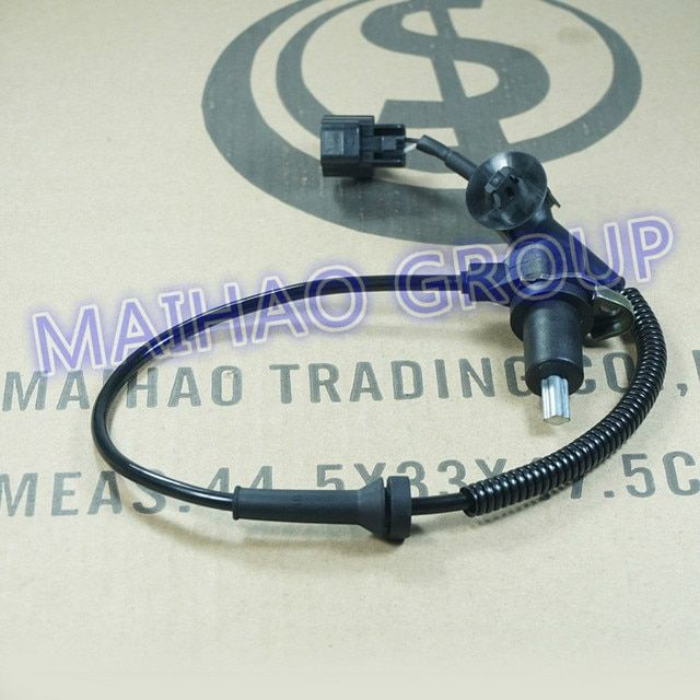 ABS Wheel Speed Sensor Rear Right 96473224 96200001 95996130 ALS477 For Chevrolet Aveo Lova Sprak Pontiac Wave G3
