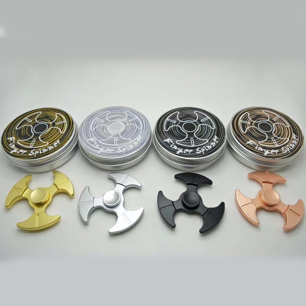 2017 Zinc Alloy Fidget Spinners Bearing R188 Hand Spinner Decompression Toys Adult Aluminum