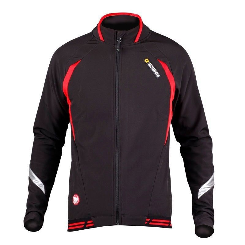 SOBIKE Winter WINDOUT Fleece Thermal CATHE Bike Bicycle Cycling Cycle Ride Long Sleeve Jersey Jacket-Aurora