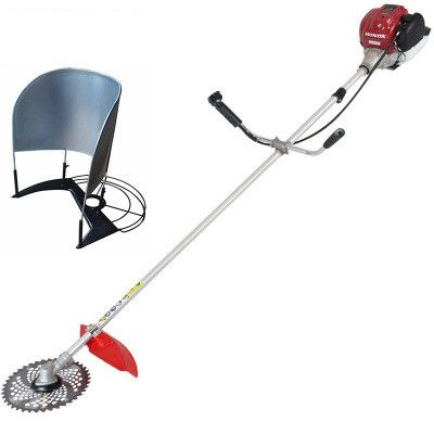 two head 4stroke  Gx35 Engine Brush cutter side-attachment trimmer