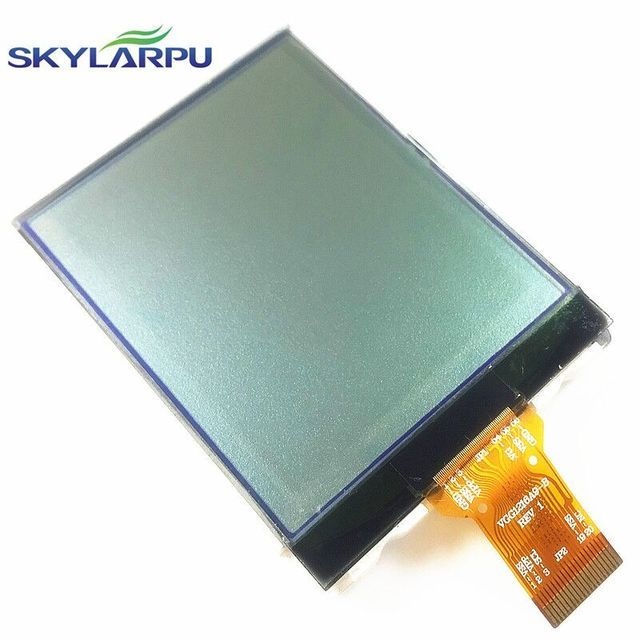 "skylarpu 2.4"" inch VGG1216A9-B REV 1 LCD Screen for GARMIN eTrex 10 Handheld GPS LCD display Screen panel Repair replacement"