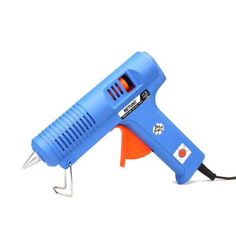 Eu Plug 100-240V 150W High Power Adjustable Constant Temperature Hot Melt Glue Gun Use  11mm Glue Sticks Electric Hand Tools DIY