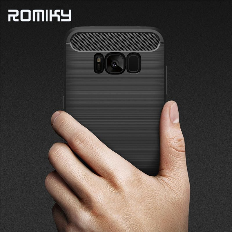 Romiky Silicone Case For Samsung Galaxy Note 8 S8 S9 Plus S6 S7 Edge Tpu Case For Galaxy J2 J3 J5 J7 Prime 2016 A3 A5 A7 2017