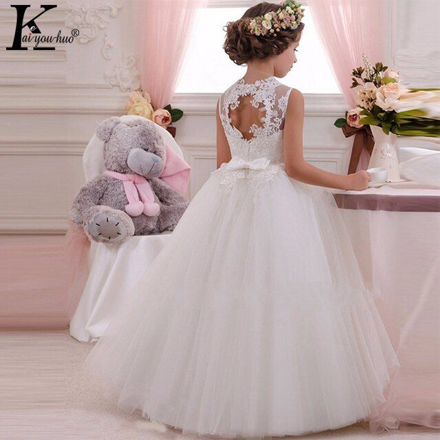 New High Quality Summer Girls Dress Children Clothing Princess Wedding Dress Carnaval Performance Kids Dresses For Girls Costume