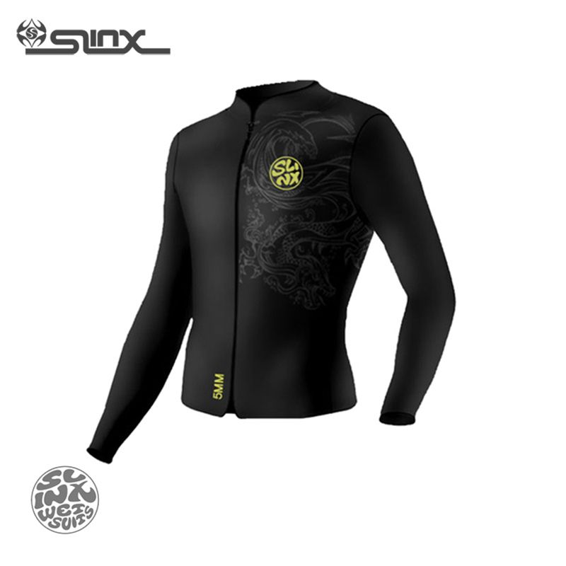 SLINX RivaRanger 1109 5mm Neoprene Scuba Diving Suit Windsurfing Swimwear Boating Snorkeling Fleece Lining Warm Jacket Wetsuit