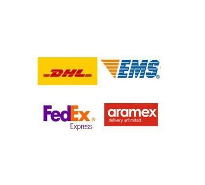 Shipping fee by DHL,Aramex,Fedex,EMS,order less than $200 but more than $100 ,please pay $15 for fast express