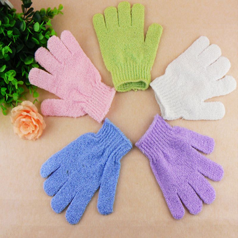 20Pcs Exfoliating Bath Shower Glove Peeling Exfoliating Gloves For the Bath Body Scrubber Shower Gloves Massage Cleaning Loofah