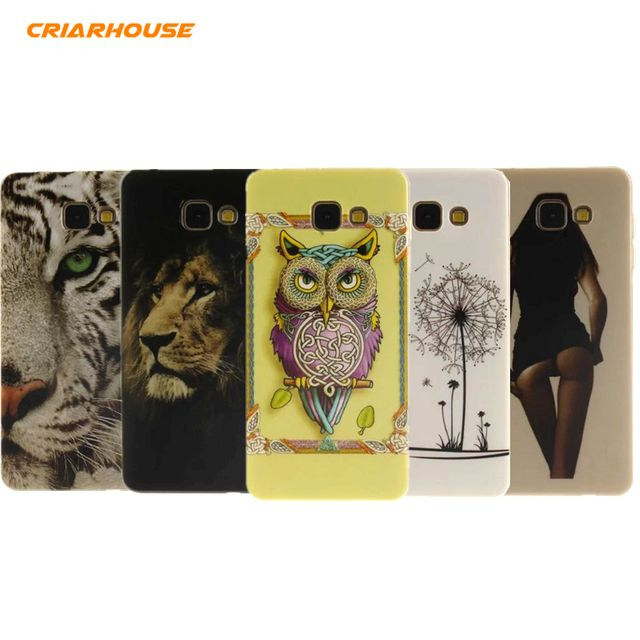 Cartoon Printing Soft Silicone TPU Case Cover For SAMSUNG GALAXY A3 A5 A7 2017 J1 J5 J7 2016 Prime A310 S7 Edge G935 S8 Plus