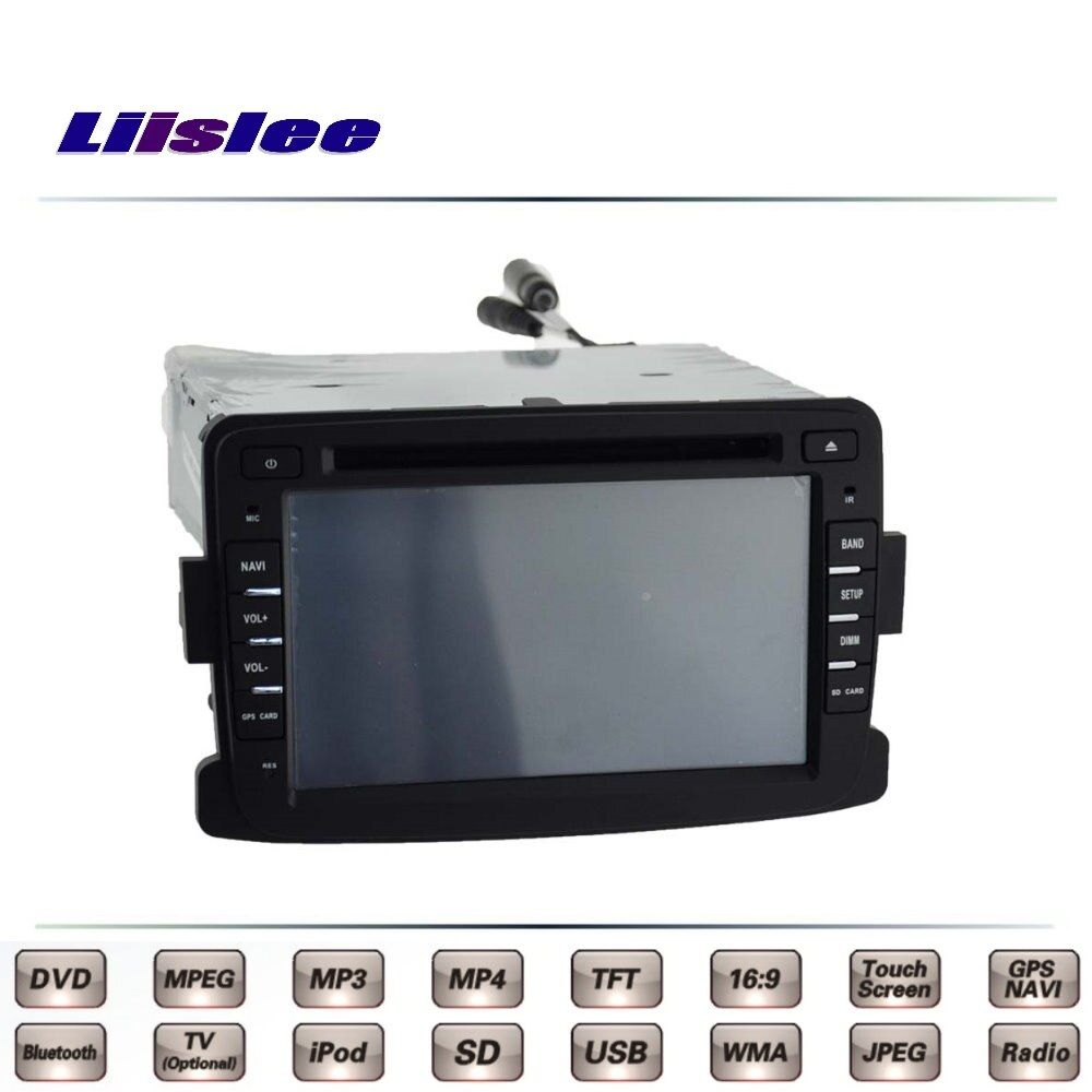 For Nissan Terrano Car Multimedia TV DVD GPS Radio Original Style Navigation Liislee Advanced Navi
