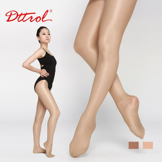 Support Dance Shimmery Footed Tights