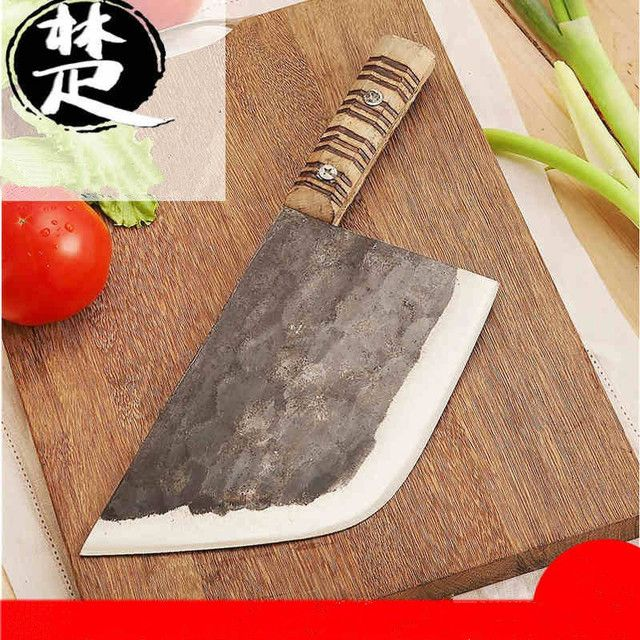 Free Shipping CHUJD Forged Clip Steel Kitchen Knife Professional Chop Bone Knives Hard Food Meat Slicing Butcher Knife