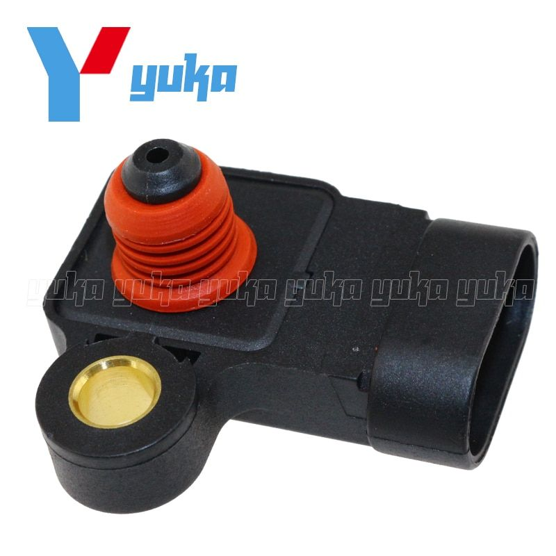 100% Test MAP Sensor Intake Air Boost Pressure Manifold Absolute Druck Sender For Chevrolet Aveo 5 Lacetti Nubira Optra 1.8