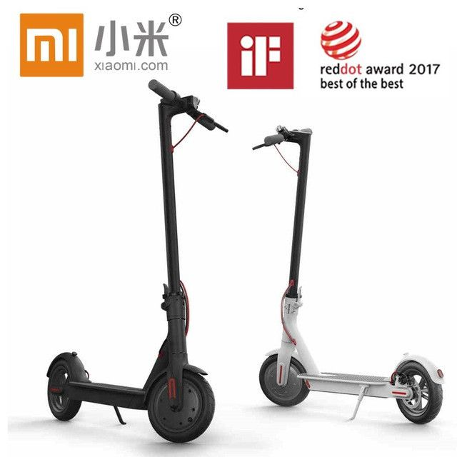 Original Xiaomi Mijia M365 Smart Electric Scooter foldable mi lightweight LG Battery ad APP hoverboard  skateboard 30KM mileage