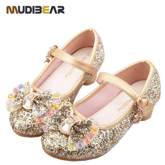 New 2016 Enfant Fashion Summer Girls Shoes Lovely Diamond Bow Children Sandals High Quality Princess Kids Shoes Children Shoes