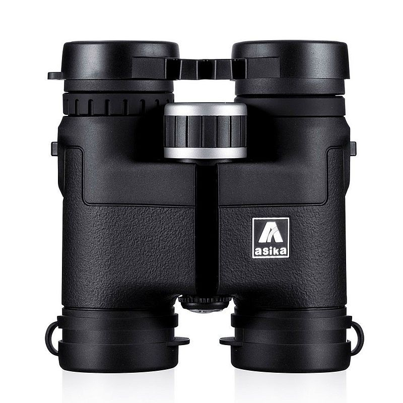 Genuine Asika 8X32 telescope Binoculars for hunting camping waterproof professional binoculares Bird Watching HD Military black