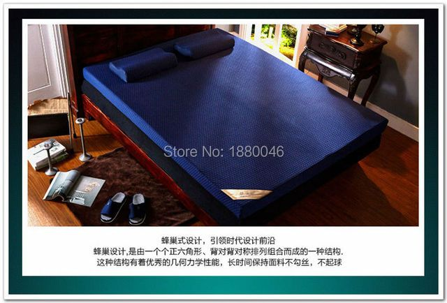 New 10cm Memory mattress slow rebound space memory cotton sponge bed mat mattress thickening customize Upgrade slip tasteless