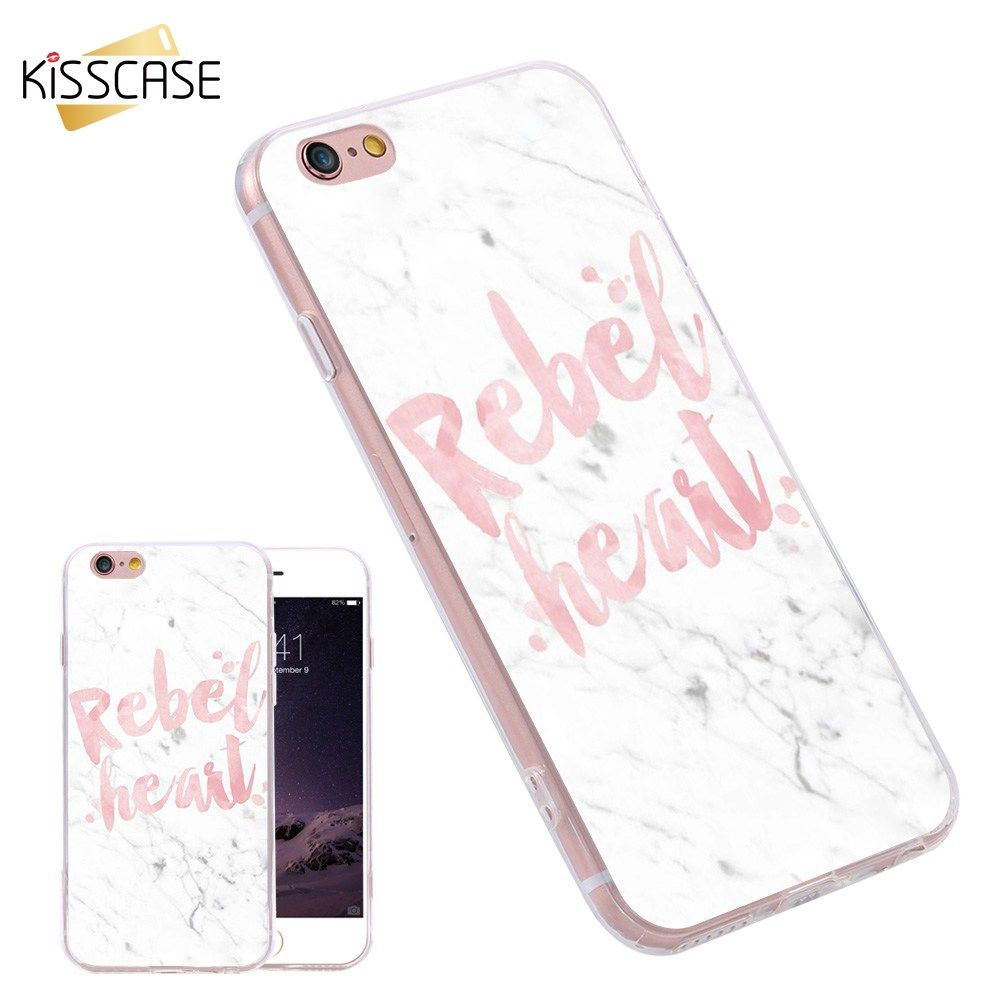 KISSCASE Silicone TPU Cover For Samsung S6 S7 Edge Plus Note A7 J7 E5 S5 Phone Case For iPhone 6 6S Plus 5s Art Text Shells Capa