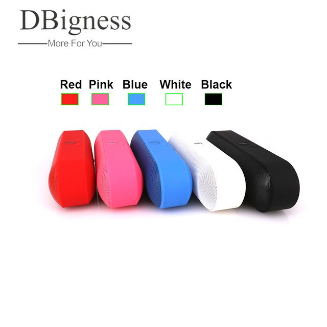 Dbigness Bluetooth Speaker Portable Speaker caixa de som Soundbar MP3 1800 mAh Wireless Altavoz bluetooth for Phone Computer
