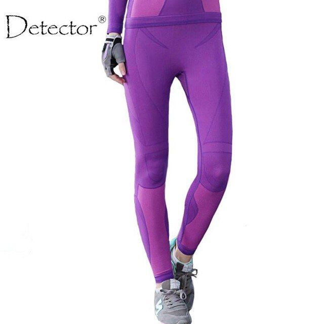Detector Women Leggings Sport High Waist Slim Yoga Pants Running Fitness Workout Spring Winter Women Legging Pants