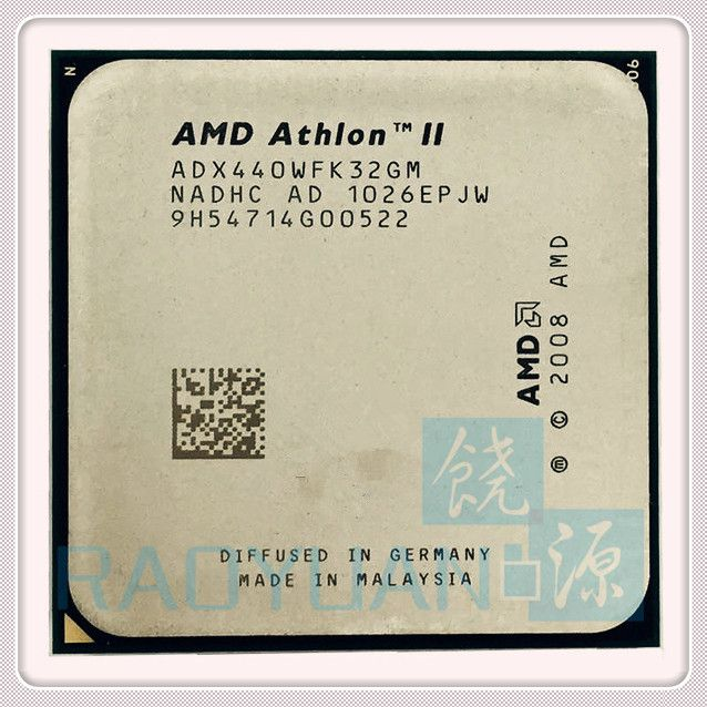 AMD Athlon II X3 440 X3-440 3GHz Triple-Core CPU Processor ADX440WFK32GM Socket AM3 938PIN