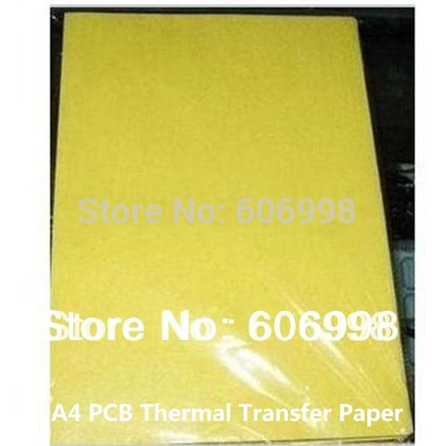 100pcs/lot PCB Circuit Board Thermal Transfer Paper A4 Size Transfer Paper