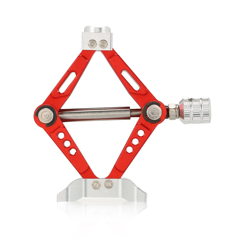 6 TON Aluminum Alloy Scale Adjustable Jack Stand for 1/10 RC4WD D90 SCX10 Rock Crawler RC Car Parts