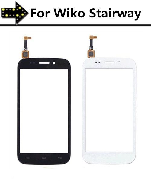 1.PCS Smartphone Touchscreen Digitizer Glass Lens Panel for Wiko Stairway Touch Screen with flex cable Replacement parts!!!