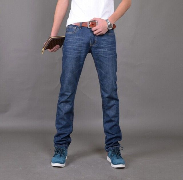 New Arrival Famous Brand Jeans For Men Cheap Jeans China Straigh Regular Fit Denim Jeans Pants Classic Blue Colour Size 28 To 38