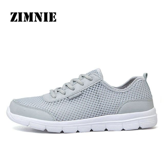 ZIMNIE 2019 New Brand Running Shoes Comfortable Breathable Outdoor Sports Light Shoes Men Women Athletic Training Run Sneakers