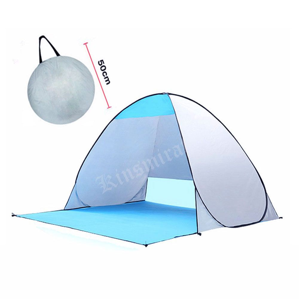 Quick Automic Opening Beach Tent UV-protection camping tents Waterproof Sun Shelter for outdoor recreation tourist fishing Tents