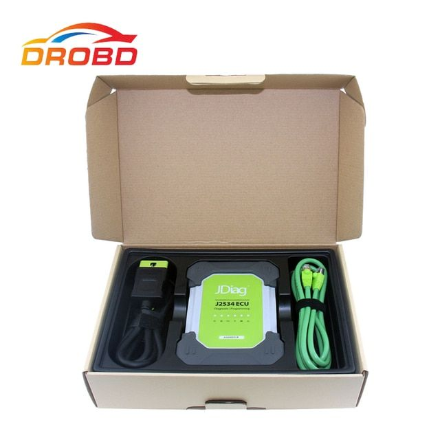 2017 JDiag Elite OBD J2534 Original JDiag Elite II Pro auto diagnostic & ECU programming tools JDiag J2534 DHL Free shipping