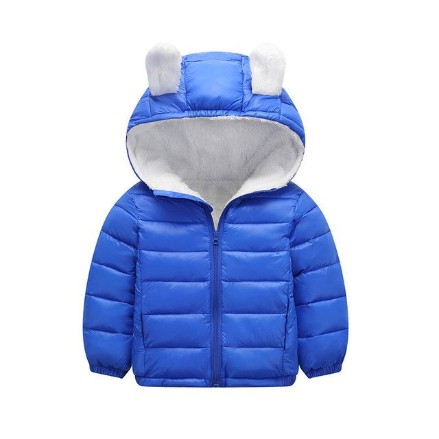 2018 Winter Children Jacket Bow Hoodies Children Coat Girls Clothes Kids Jackets Warm Outerwear Fashion Coat for Girls Clothing