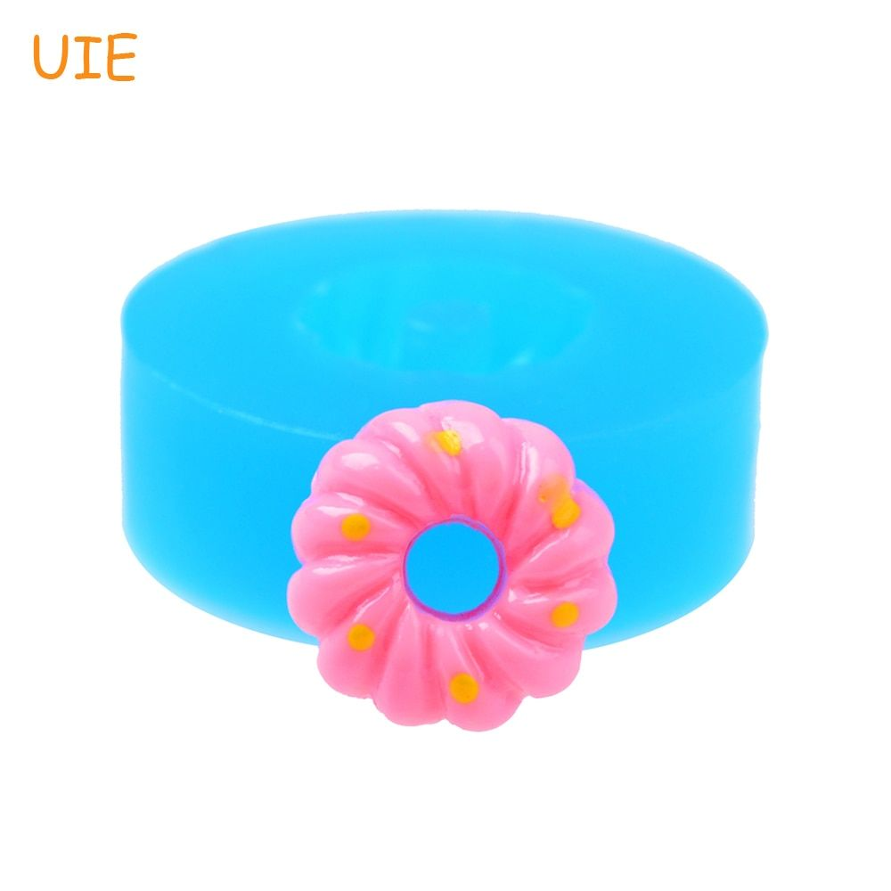 TYL014U 14mm Spiral Donut / Doughnut Silicone Mold - Dessert, Cake Decoration, Gum Paste, Candy, Icing, Chocolate, Resin Clay