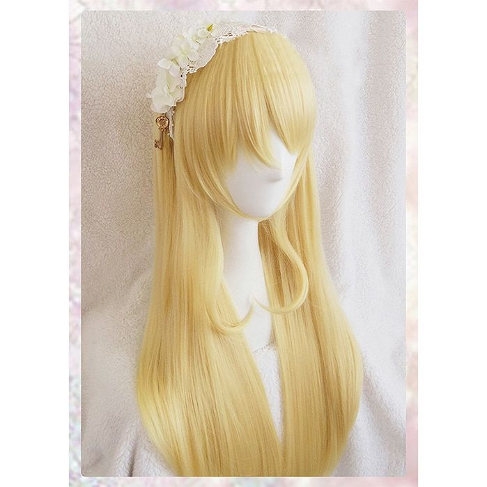 New design Eli Ayase long perruque wig Love Live! LoveLive! Ayase women girl golden yellow anime cosplay wigs synthetic hair