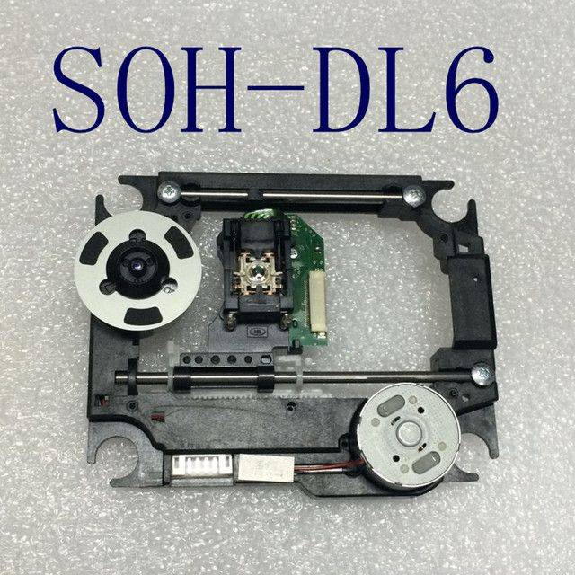 Brand New DVD Laser SOH-DL6  with plastic mech CMS-S76 DL6  S76R Mechanism  Lens Lasereinheit  Optical Pick-ups Bloc Optique
