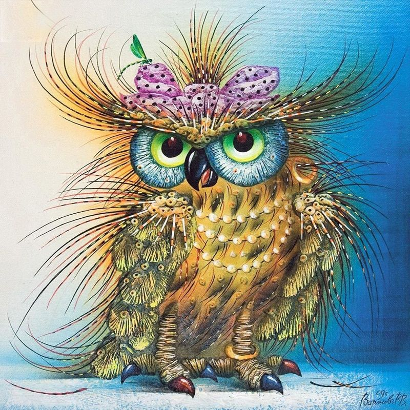 DIY diamond painting owl 5d diamond embroidery painting rhinestones mozaiek diamond painting animal mosaic pattern with diy kit