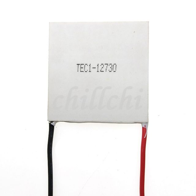 Refrigeration chip 50*50 12V30A TEC1-12730 refrigeration capacity 268W temperature difference of 68 degrees