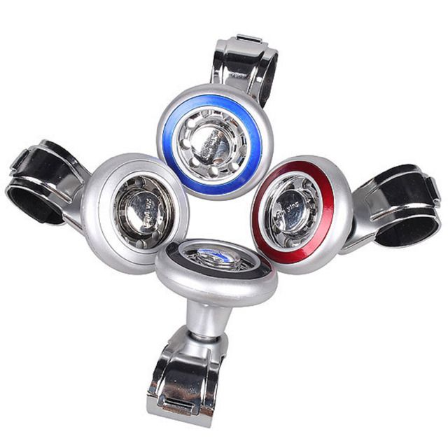 1PCS Car Steering Wheel Power Handle Ball Grip Spinner Silver Strengthener Auto Spinner Knob Ball High Quality Steering Wheels