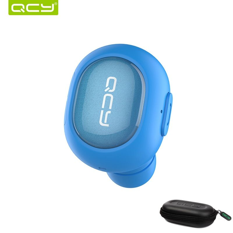 QCY combination sets Q26 car calls earphone bluetooth headset and portable storage box