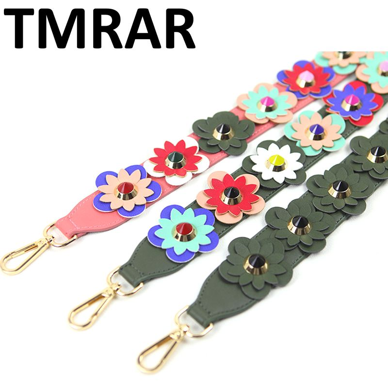 2019 Fashion Leather handbag strap trendy prefall design bags strap bag parts bag accessory easy matching M2048